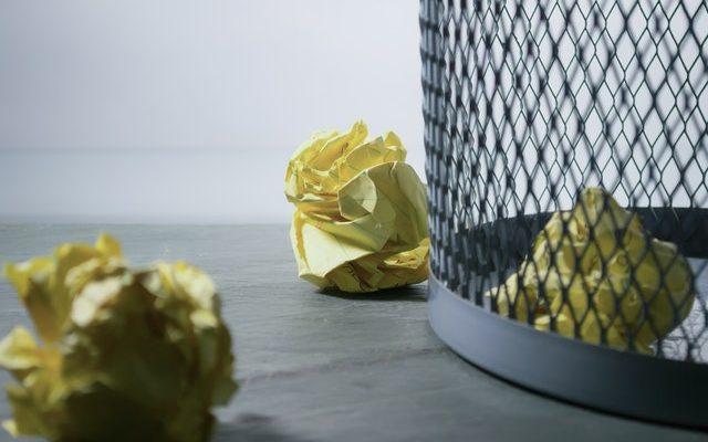 kantoor afval scheiden